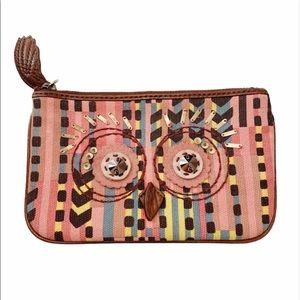 Juicy Couture Owl Boho Aztec Cosmetic Pouch